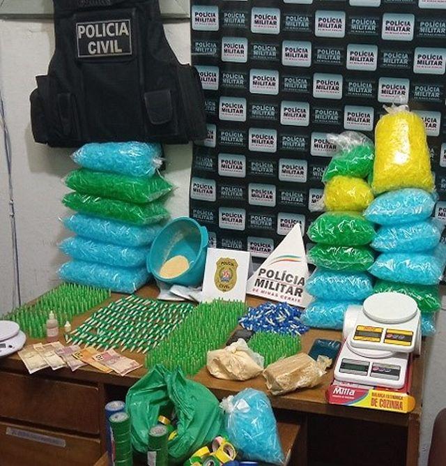 Operação conjunta combate tráfico de drogas em Tombos.