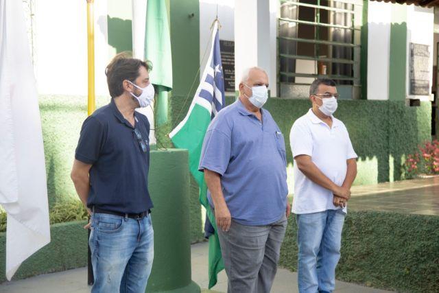 Prefeito e Secretários participam das comemorações dos 139 anos de Carangola.