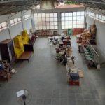 Museu de Carangola em reforma.