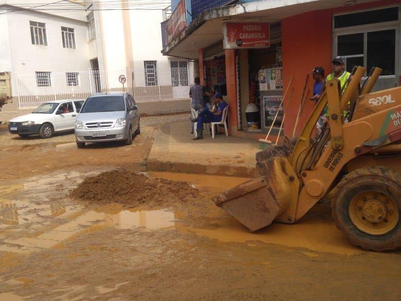 Defesa Civil de Carangola alerta.