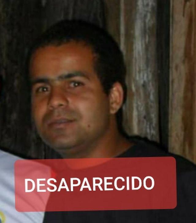 DESAPARECIDO – Daniston irmão do mecânico Thiago Amaral.