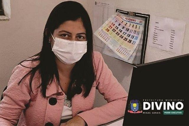 Divino começa amanhã (9) o cadastramento prévio para vacinação contra Covid-19.